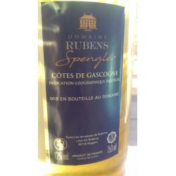 Vin Rubens Spengler IGP Cote de Gascogne - Cuvée 2013 & 2014 Frères de la Côte